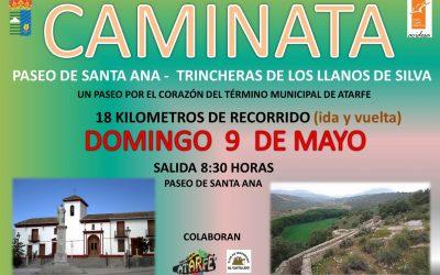 CAMINATA DESDE ATARFE A LAS TRINCHERAS DE LOS LLANOS DE SILVA
