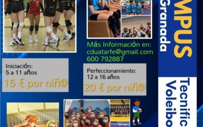 Campus tecnificación de Voleibol